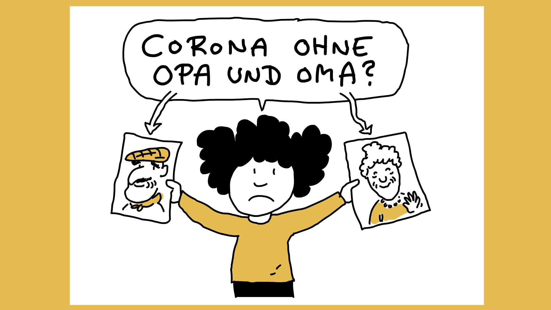 Oma Besuchen Corona