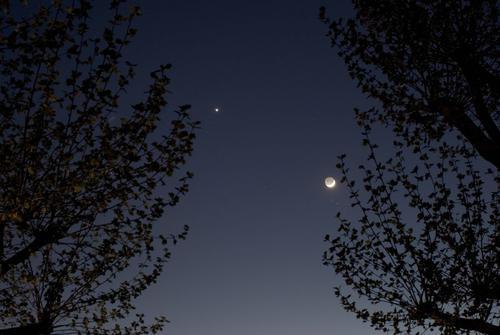 planeten leuchten