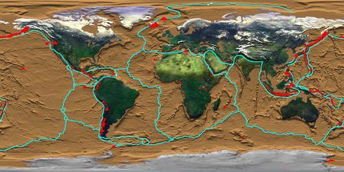 Vulkane Der Erde Karte.Wo Auf Der Erde Gibt Es Vulkane