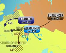 Germanische Stämme Karte.Planet Schule Multimedia Interaktive Animationen Detailseite