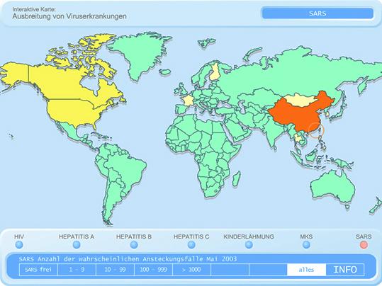 Gelbe Karte Grundschule.Ausbreitung Von Viruserkrankungen Multimedia Planet Schule