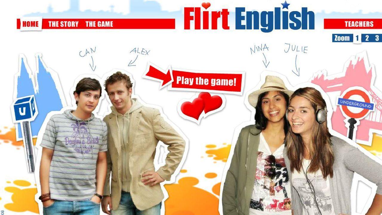 en anglais flirter)