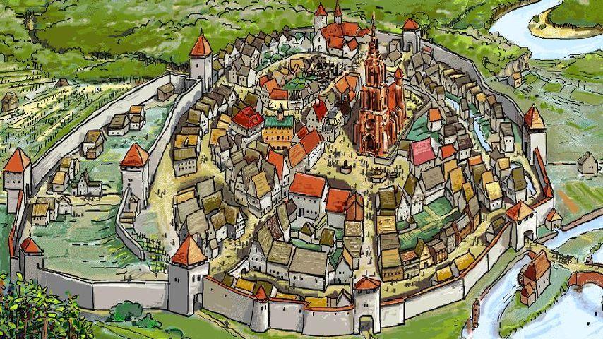 Städte Im Mittelalter