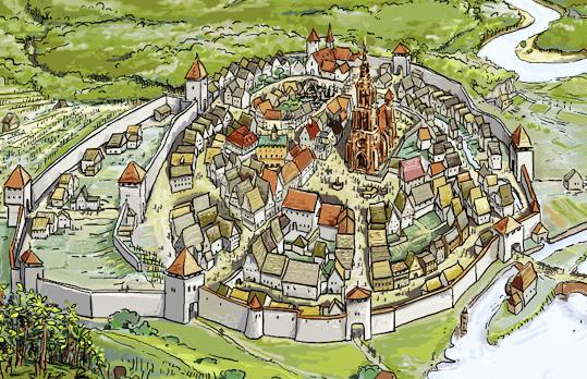 Planetschule Die Stadt Im Späten Mittelalter