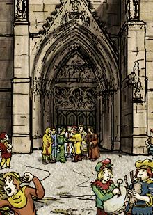 Die Stadt im späten Mittelalter – Hochzeit