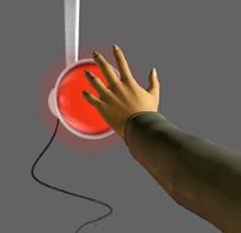 detailansicht der simulation infrarotlampe - Warmestrahlung Beispiele
