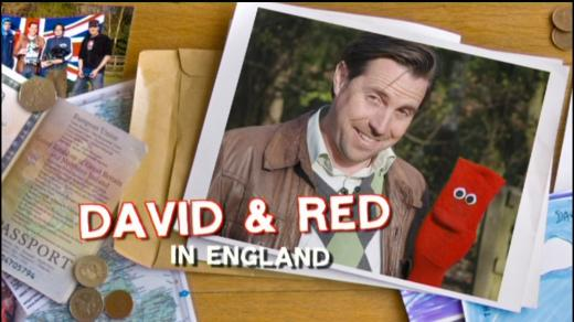 David And Red In England