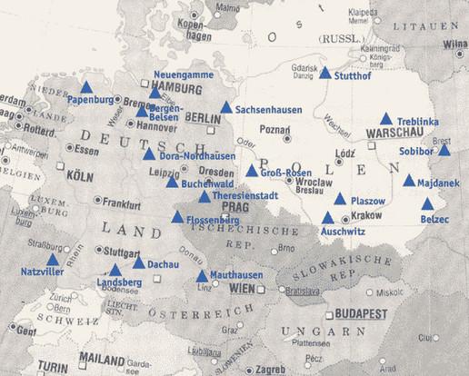 kz in deutschland karte Konzentrationslager | Hintergrund | Inhalt | Spuren der NS Zeit