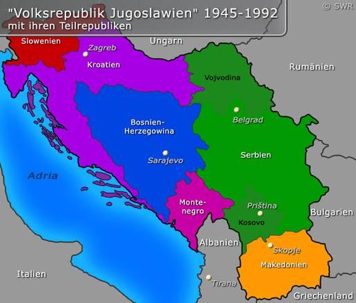 Wie Heißt Jugoslawien Heute