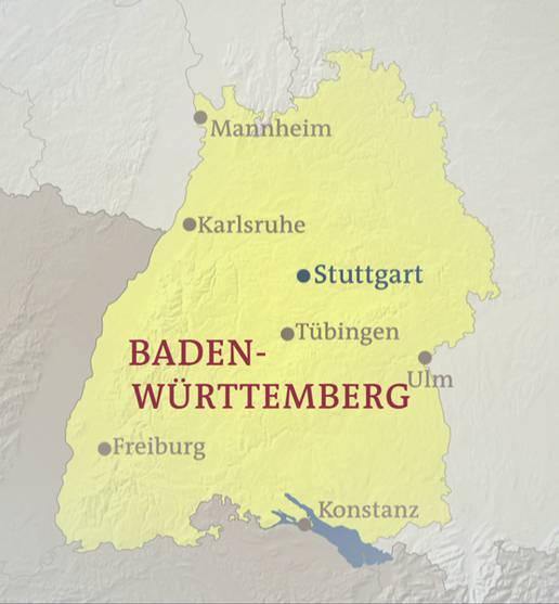 Mannheim Bundesland Karte.Baden Württemberg Heute Karten Inhalt Geschichte Der