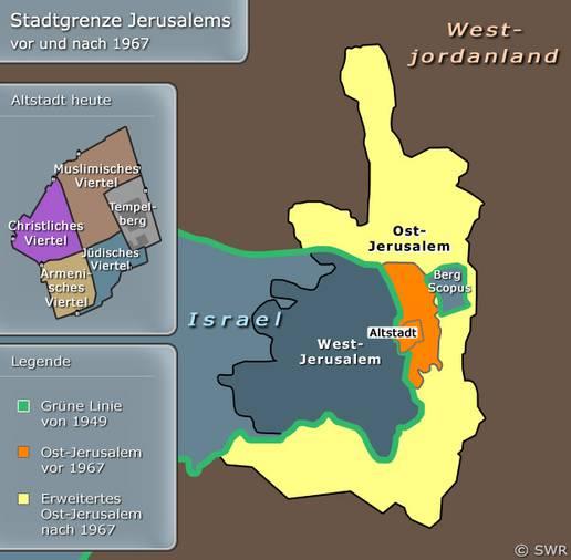Jerusalem Karte Heute.Karten Jerusalem Nahost Hintergrund Inhalt