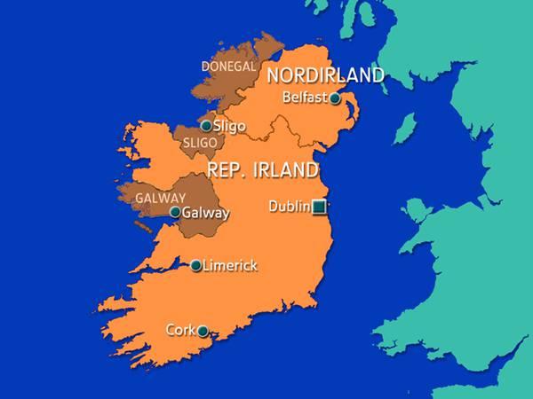 Irland Karte Städte.Irland Hintergrund Inhalt Reports In English Gb Wissenspool