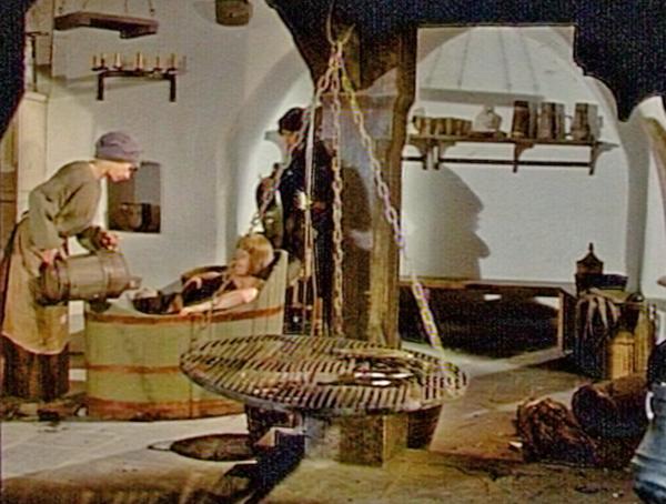 Awesome ... Mittelalterliche Küche, Ritter In Holzbadewanne. (Quelle: SWR U2013  Screenshot Aus Der Sendung