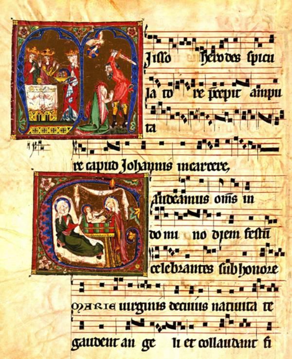 Inhalt | Musik im Mittelalter | Wissenspool